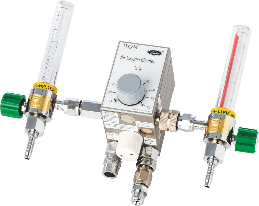 Nice 5010 High Low Flow Air Oxygen Blender Niceneotech